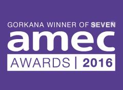 AMEC Awards 2016 winners logo