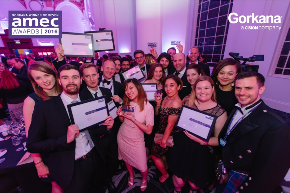 Gorkana wins seven AMEC Awards