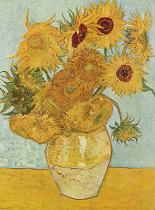 Sunflower_Van Gogh 1