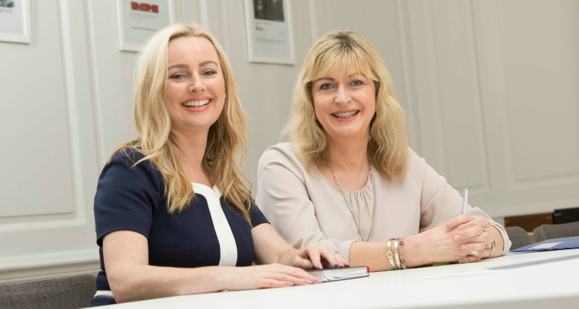 Alison Clarke (right) has joined Beattie Group as chairman of its specialist marketing brand Only Marketing
