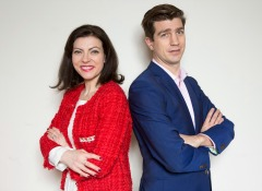Higginson PR co-founders Clodagh and John Higginson