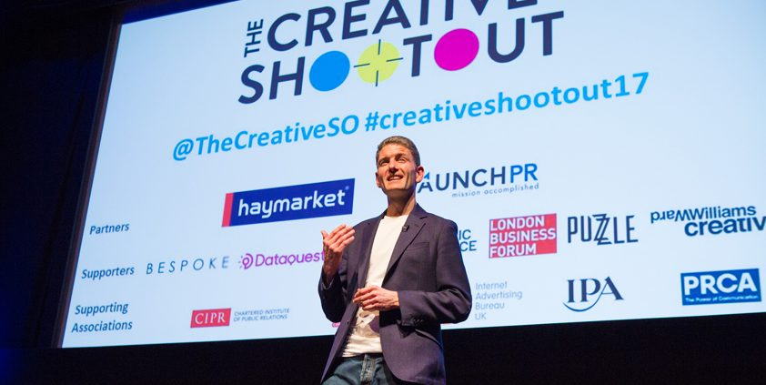 Johnny Pitt at The Creative Shootout