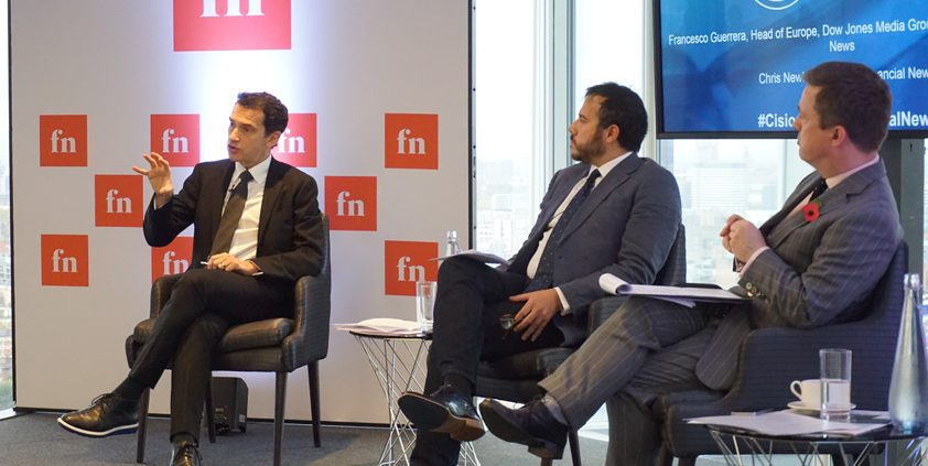 Cision Media Briefing with Financial News' Francesco Guerrera and Chris Newlands