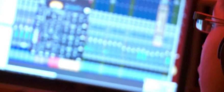 Katriona Music in the Music Studio