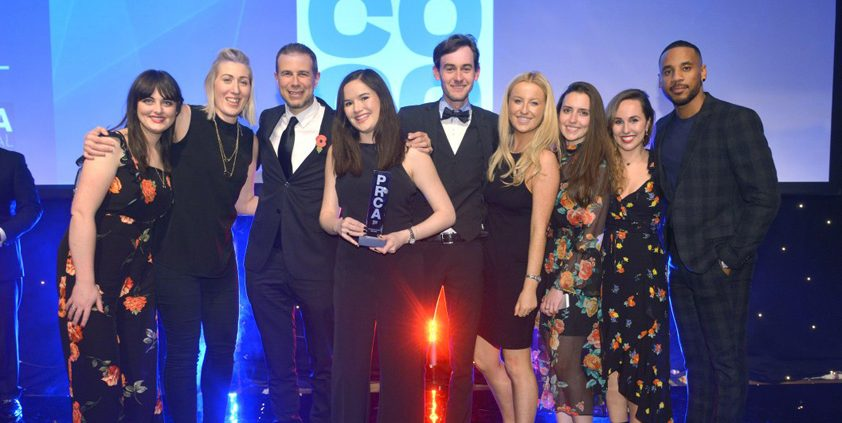 Co-op and Weber Shandwick win four PRCA National Awards
