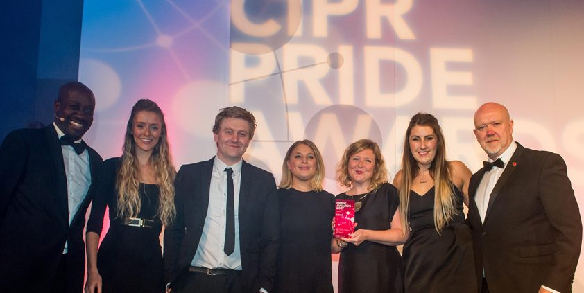 CIPR West Midlands PRide Award winners WPR