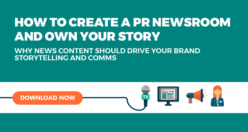 Why PR newsrooms are the future of brand storytelling