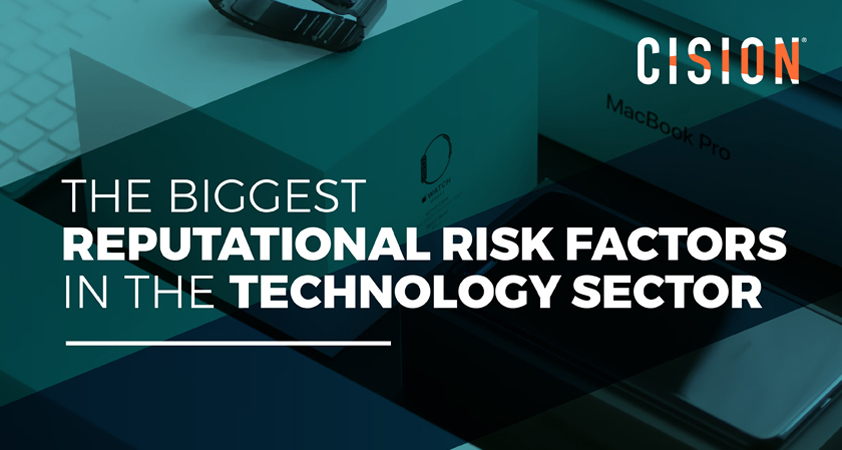 The biggest reputational risk factors facing the tech industry