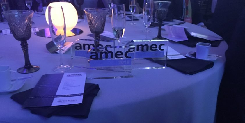 Cision celebrates a golden night at the AMEC Awards