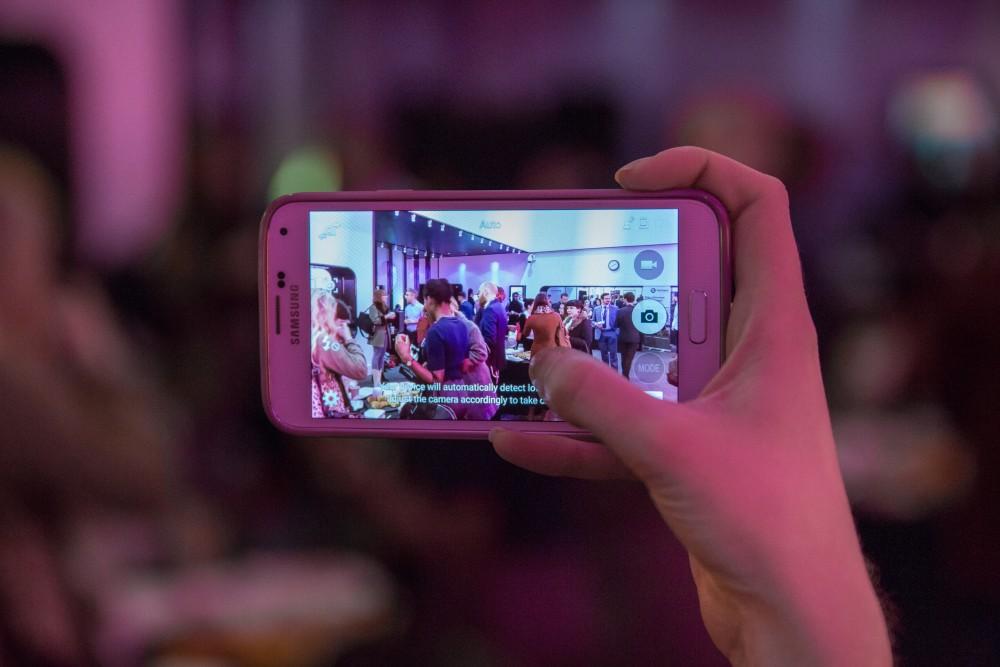 Smart Phone at Gorkana event