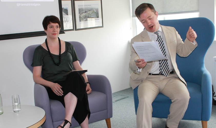 Vanessa Richmond and Philip Smith