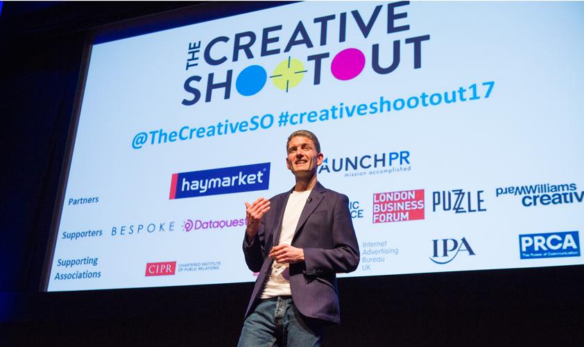 Johnny Pitt at The Creative Shootout