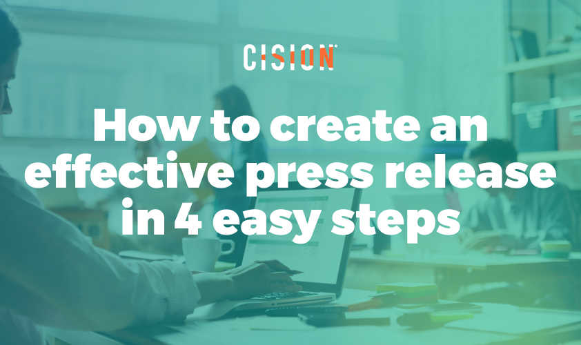 How to great an effective press release in 4 easy steps