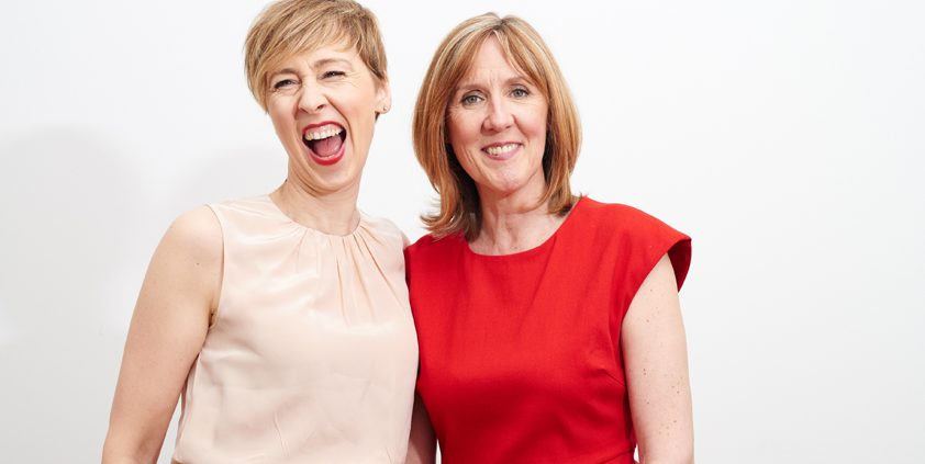 OneChocolate's Jill Coomber and Sue Grant