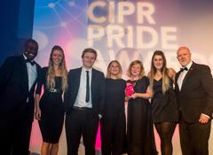 CIPR West Midlands PRide Award winners WPR