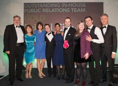 Bristol City Council at CIPR South of England and Channel Islands PRide Awards 2017