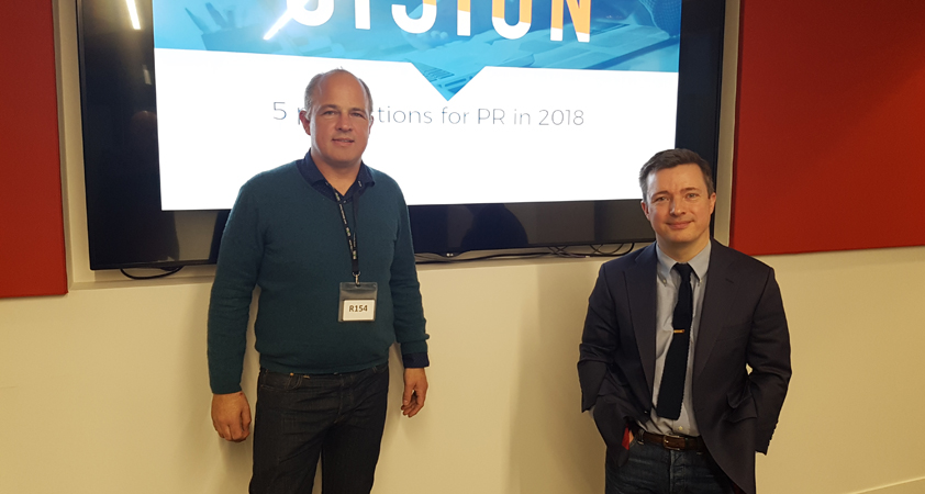 Cision webinar Stephen Waddington 5 predictions for PR in 2018