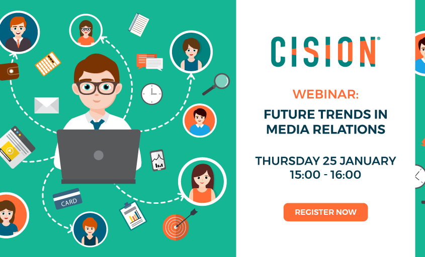 Cision webinar to reveal the latest trends in media relations