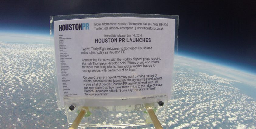60 Seconds with Houston PR's Hamish Thompson