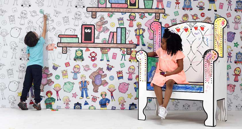 Munch launches Cartoonito's Let's Go Colour campaign
