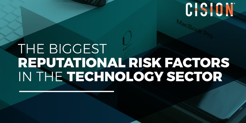 Discover the big reputational risks tech companies face