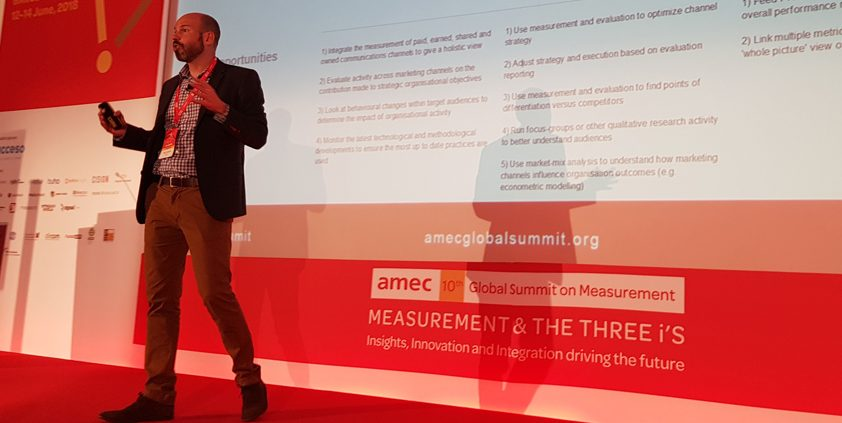 AMEC unveils its 'Measurement Maturity Mapper' in Barcelona