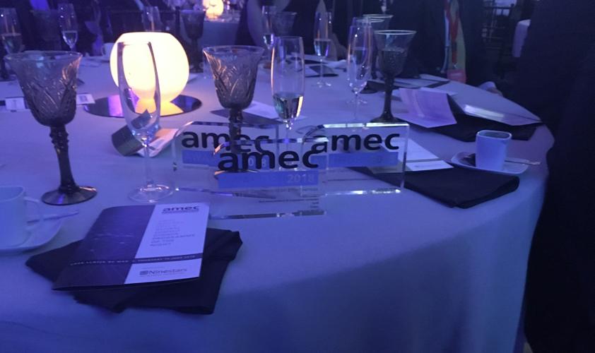 Cision celebrates a golden night at the AMEC Awards