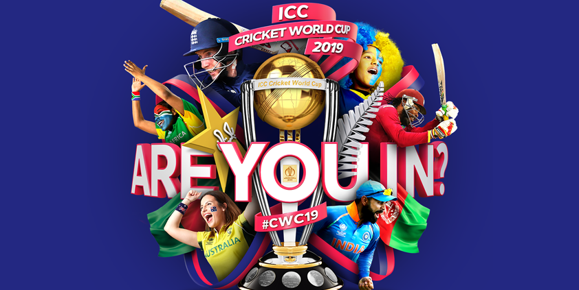 60 Seconds with the Cricket World Cup 2019's Adrian Wells