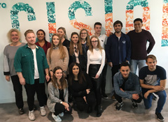 PR students learn the power of the Cision Communications Cloud